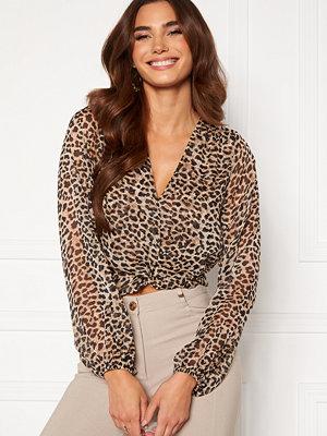 Chiara Forthi Lorenza blouse Leopard
