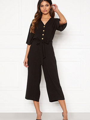 Jumpsuits & playsuits - Happy Holly Nena jumpsuit Black