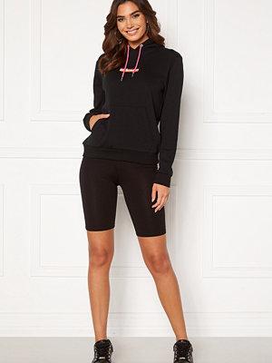 Vila Cool Solid Biker Shorts Black