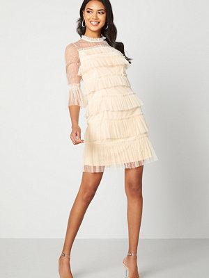 Vila Selma O-Neck 3/4 Dress Bellini