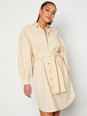 Selected Femme Cecilie Short Shirt Dress Sandshell