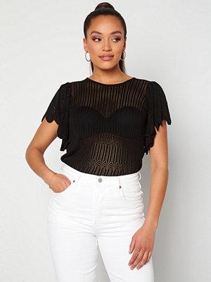 Jacqueline de Yong Solis S/S Pullover Black