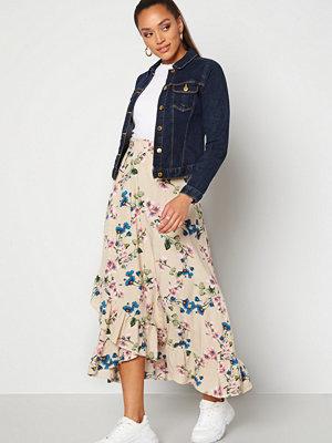 Kjolar - Object Paree Maxi Skirt Sandshell / Flower