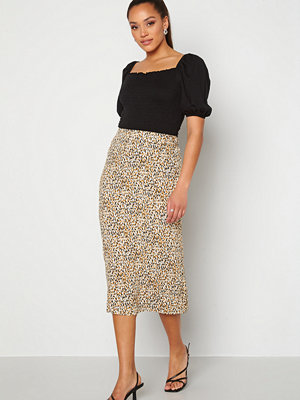 Object Amanda Lility Skirt Cloud Dancer AOP Leo