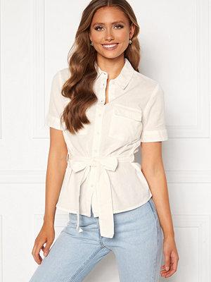 Skjortor - Bubbleroom Mya shirt blouse Offwhite