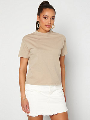 Trendyol Eco Cotton Relaxed T-Shirt Tas/Stone