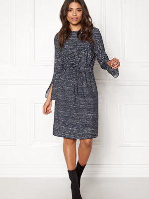 Dagmar Martha Midi Dress Blurred stripe