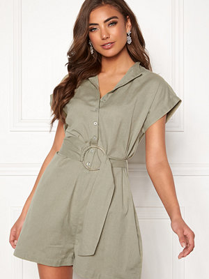 Make Way Mileika playsuit Olive green