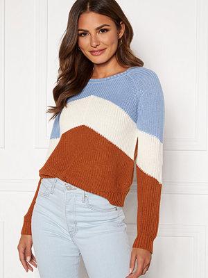 Object Graph L/S Knit Pullover Serenity/Gardenia