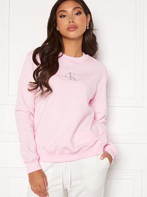 Calvin Klein Jeans Monogram Logo Crew Neck TN9 Pearly Pink/QG