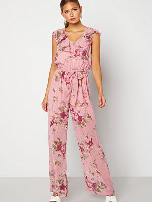 Happy Holly Scarlett Jumpsuit Pink / Floral
