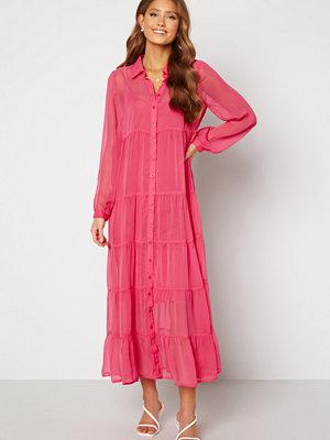 Happy Holly Elsie Maxi Dress  Cerise