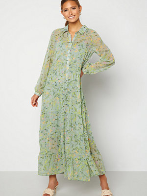 Happy Holly Elsie Maxi Dress  Green / Floral