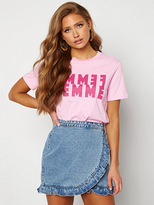 Selected Femme Simi SS Tee Pink Lavender
