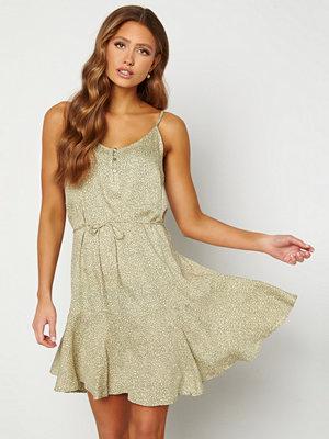 Pieces Nya Slip Button Dress Shadow