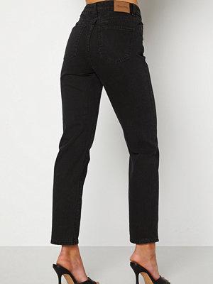 Happy Holly Natalie straight leg jeans Black denim