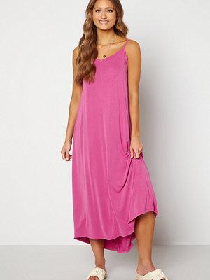 Selected Femme Finia Midi Strap Dress Rose Violet