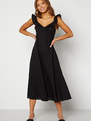 Only Allie Life Strap Dress Black