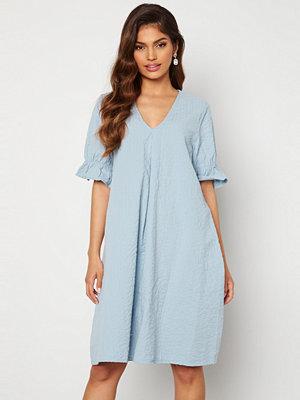 Pieces Alice 2/4 Dress Blue Fog
