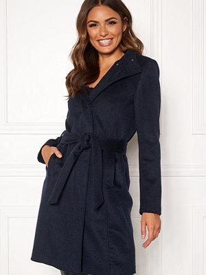 Selected Femme Mea Wool Coat Night Sky/Melange