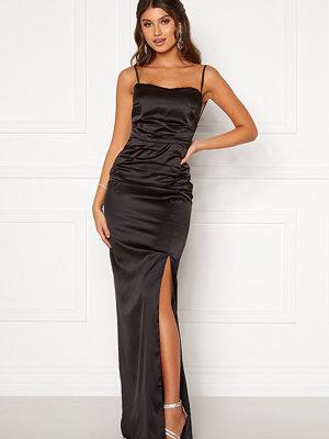 Festklänningar - Moments New York Alda Strap Gown Black