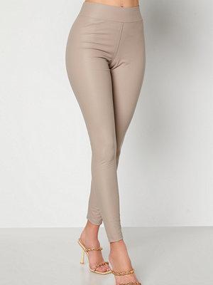 Leggings & tights - Happy Holly Alicia coated leggings Mole