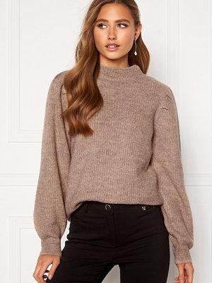 Selected Femme Lipa LS Knit Sandshell