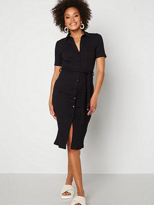 Pieces Tiana SS Midi Dress Black