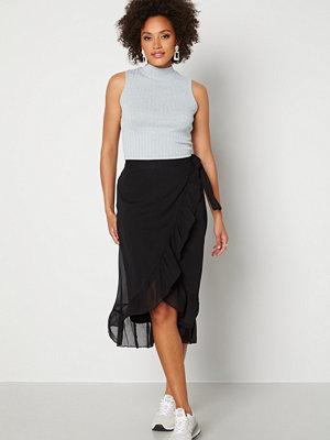 Vero Moda Wonda H/W Wrap Skirt Black