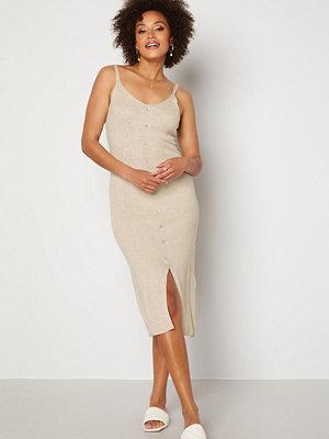 Object Lucilla S/L Knit Dress Sandshell