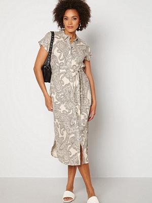 Object Collectors Item Adilla S/S Dress Sandshell AOP