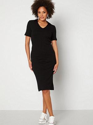 Pieces Tia SS Midi Dress Black