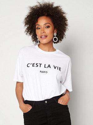 Ax Paris Cest La Vie T-shirt White