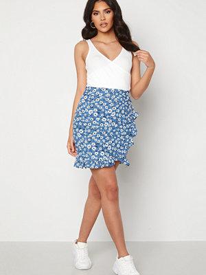 Trendyol Short Flounce Skirt Mavi/Blue