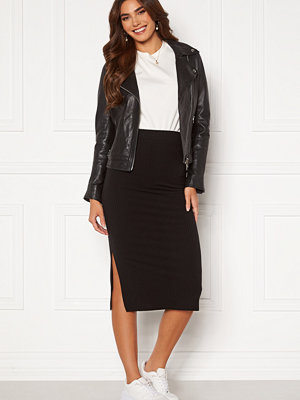 Pieces Kylie MW Midi Skirt Black