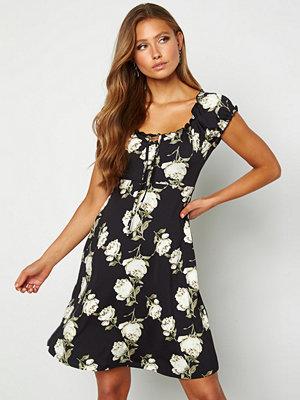 Happy Holly Tessan dress Patterned / Black