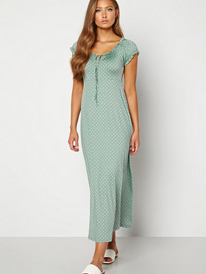 Happy Holly Tessie maxi dress Light mint / Offwhite