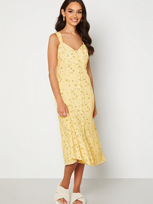 Forever New Frankie Button Through Sun Dress Lemonade Ditsy