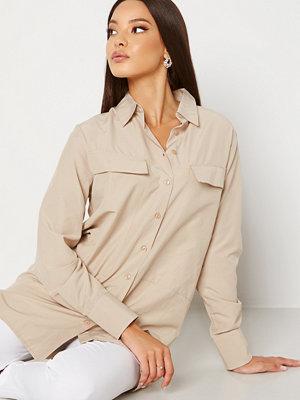 Trendyol Nathalie Tunic Shirt Bej/Beige