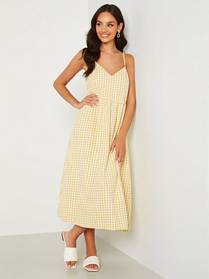 Sisters Point Era Dress 840 Yellow Check