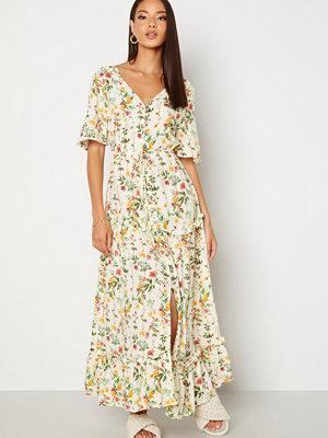 Object Lorena S/S Long Dress Sandshell