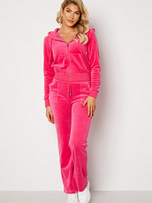 Juicy Couture rosa byxor Cotton Rich Del Ray Pant Raspberry Rose