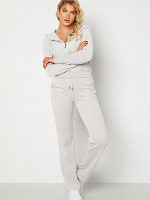 Juicy Couture vita byxor Cotton Rich Del Ray Pant Quiet Grey