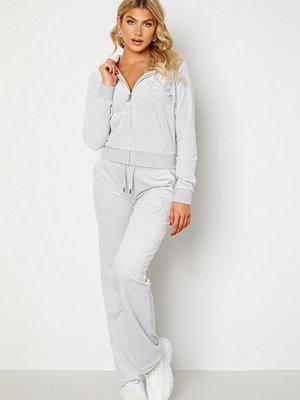 Juicy Couture vita byxor Numeral Del Ray Pants Quiet Grey