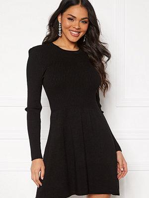Only Alma L/S O-Neck Dress Black