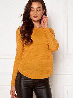 Only Caviar L/S Pullover Golden Yellow