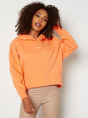 Calvin Klein Jeans Micro Branding Hoodie SFX Crushed Orange