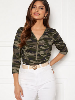 Toppar - Happy Holly Marion top Camouflage
