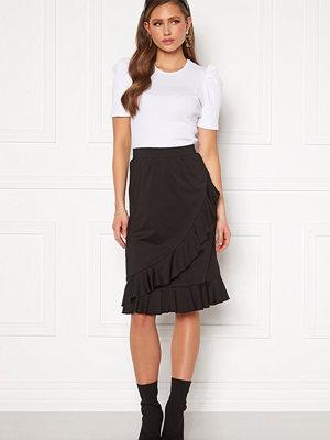 Happy Holly Sandy frill skirt  Black