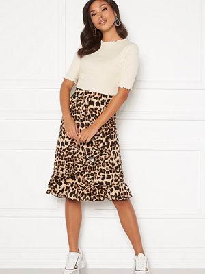 Happy Holly Sandy frill skirt  Leopard
